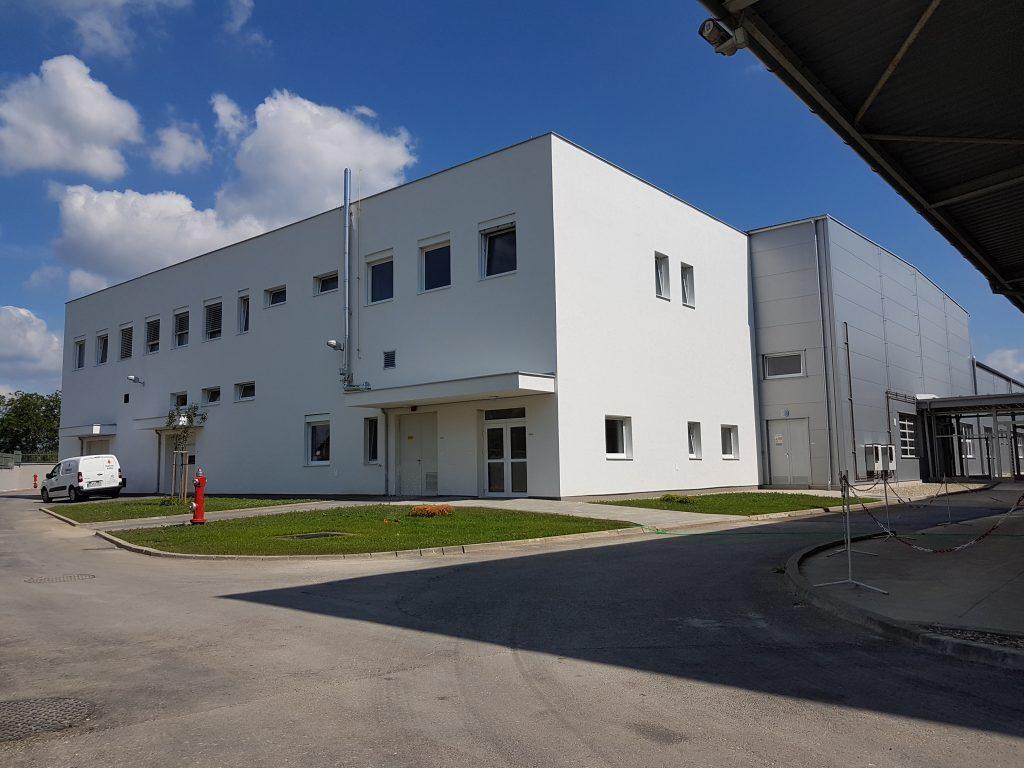 Výstavba administratívnej budovy
