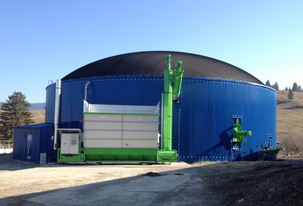 Bioplynová stanica RPD Zuberec