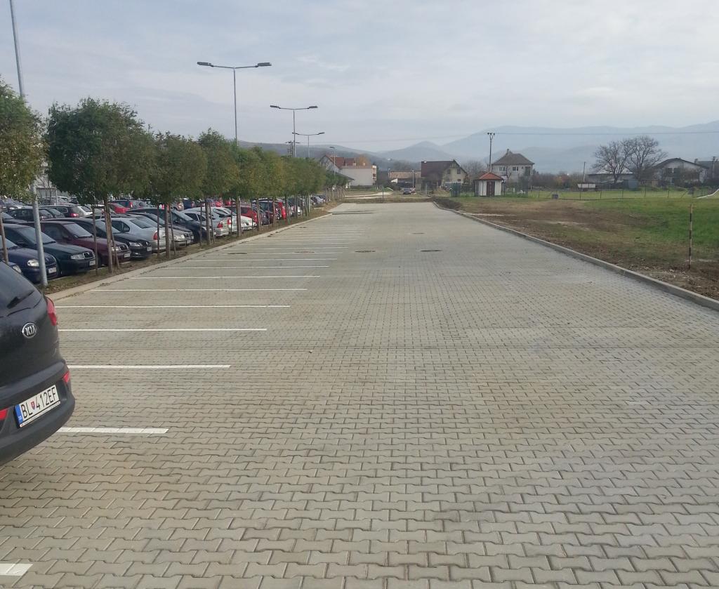 Rozšírenie parkoviska HELLA Slovakia