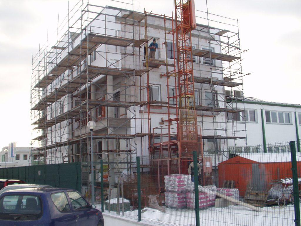 Nadstavba administratívnej budovy Ekom
