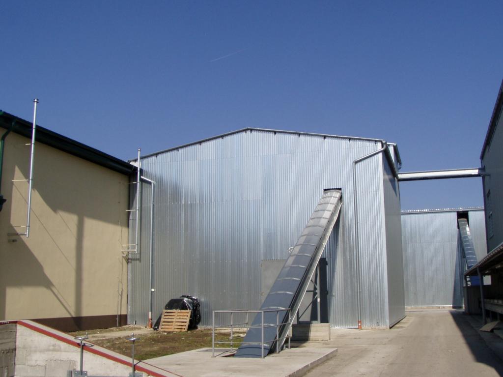 Výstavba prevádzok na produkciu osivovej kukurice
