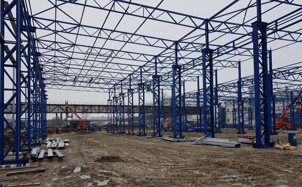 Novostavba výrobnej haly