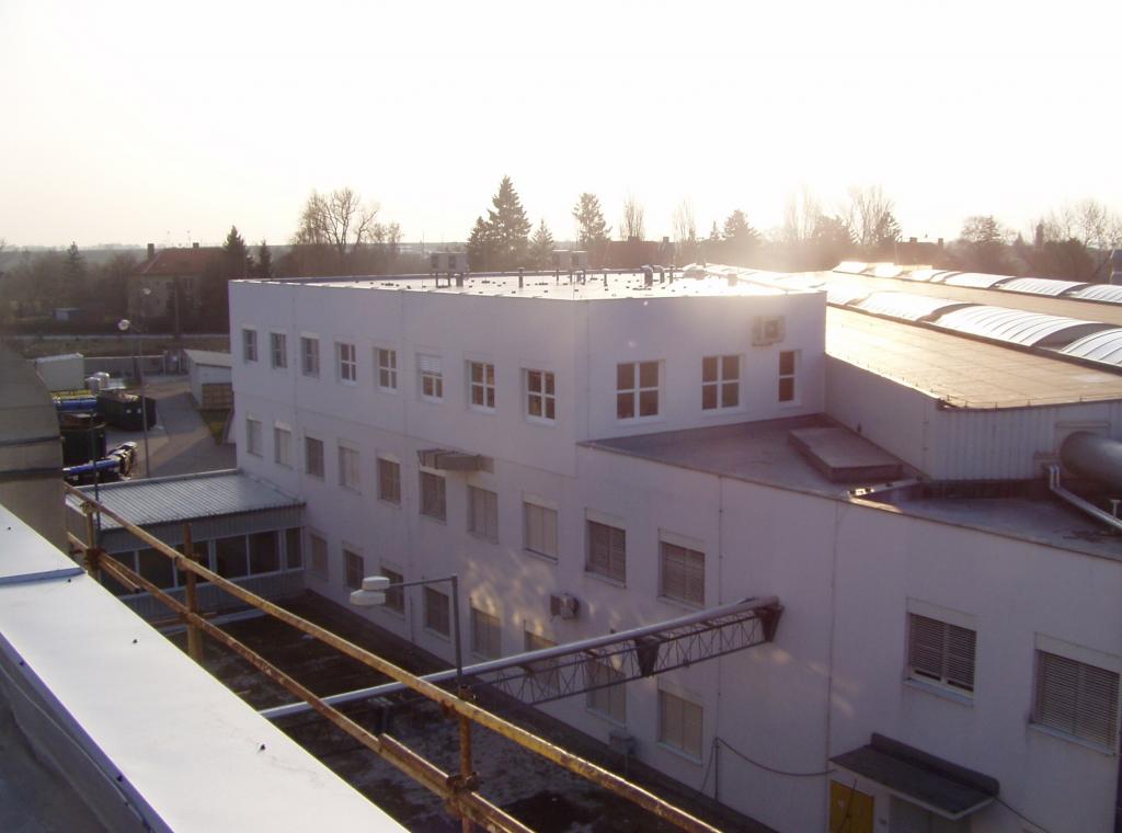 Nadstavba administratívnej budovy