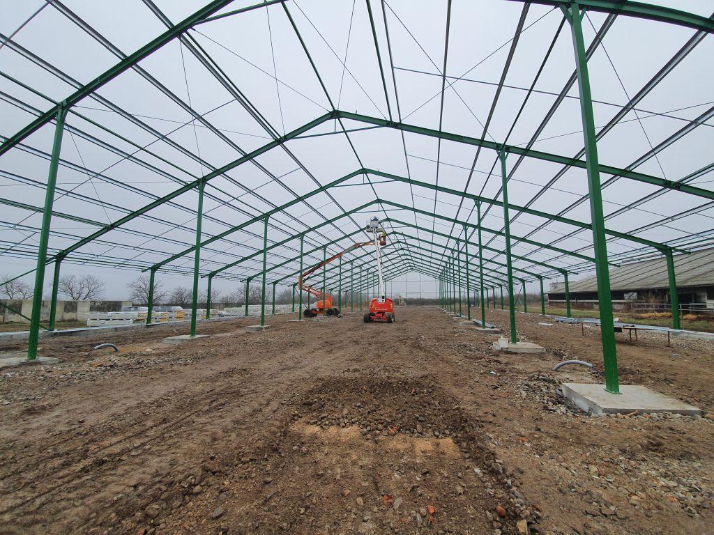 Agrocoop Imeľ, Kravín K250 – prebiehajúca výstavba